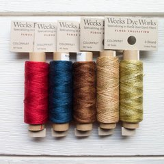 Weeks Dye Works Spools