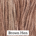 Brown Hen