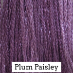 Plum Paisley