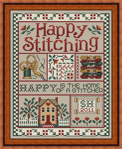 Happy Stitching - Sue Hillis Design