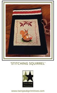 !Stitching Squirrel Freebie - Twin Peak Primitives