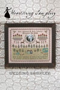 Wedding Sampler- Heartstring Samplery