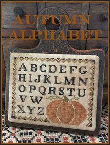 Autumn Alphabet - The Scarlett House