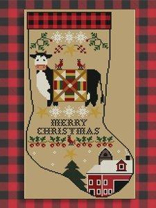 Rustic Christmas Series Stocking III- Twin Peak Primitives