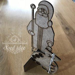 Santa Thread & Scissor holder - Twin Peak Primitives