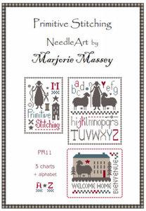 Primitive stitching - Marjorie Massey