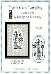 Lapine brodeuse- Marjorie Massey