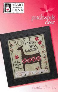 Patchwork Deer- Heart in Hand