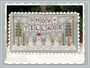 Snow Village Banner- CCN