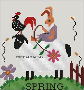 Spring Sheep- Twin Peak Primitives