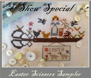 Easter Scissors Sampler - Nikyscreations