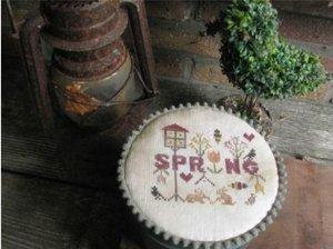 Spring Tin- Thistles