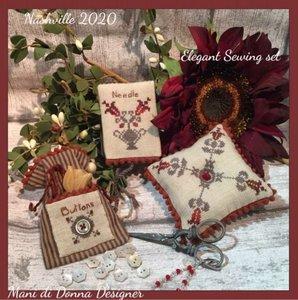 Elegant Sewing Set  -Mani di Donna Designer