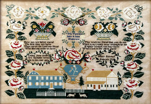 Letitia Jane Andrews 1836-Queenstown Sampler Designs
