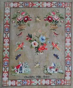 Charlotte Mills 1844-Fox and Rabbit Designs