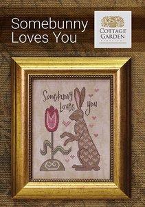 Somebunny Loves You-Cottage Garden Samplings