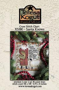 Santa Knows-Teresa Kogut