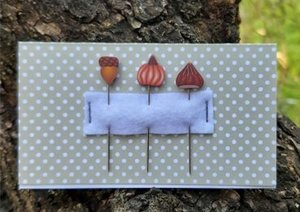 When I Think of Autumn PIN SET -Puntini Puntini