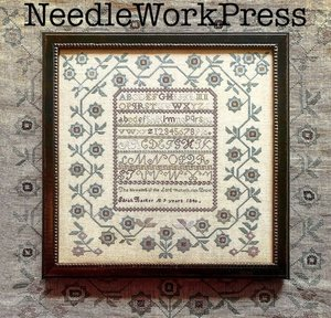 Sarah Barker 1840 - NeedleWorkPress