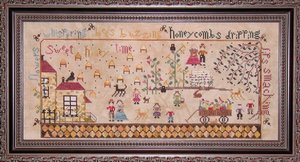 The Bee Keeper's Cottage-Praiseworthy Stitches