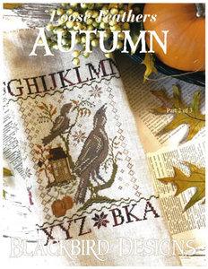 Loose Feathers-Autumn - Blackbird Designs