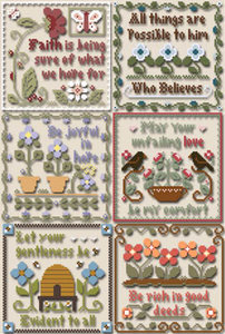 Inspirational Scriptures - Little House Needleworks