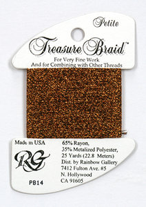 Petite Treasure Braid Bronze