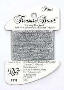 Petite Treasure Braid Silver Grey