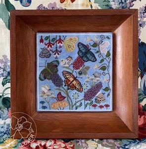 Butterfly Garden - The Blue Flower