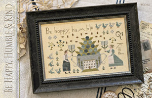 Be Happy, Humble & Kind - With Thy Needle and Thread