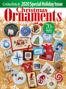 Just Cross Stitch Ornaments 2020