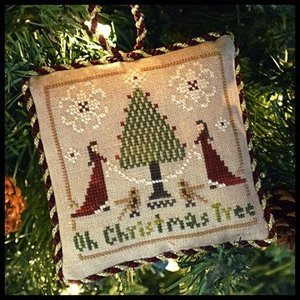 Sampler Tree - Oh Christmas Tree