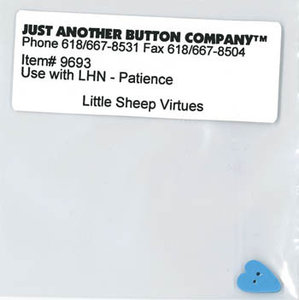 Little Sheep Virtue - 7. Patience Buttonpack