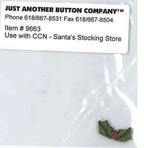 Santa's Village - 5. Santa's Stocking Store Buttonpack