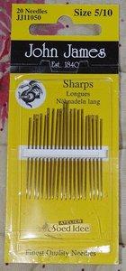 John James Sharps size 5/10