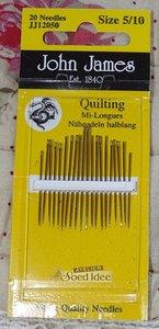 John James Quilting size 5/10
