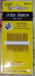 John James Quilting size 8