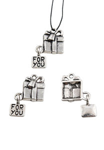 Bedel Cadeau oud zilver