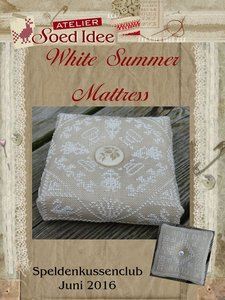 Speldenkussenclub X - White Summer Mattress