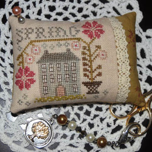 Spring Pin Pillow