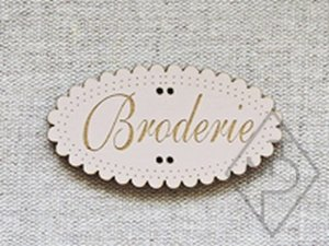 Broderie Sepia