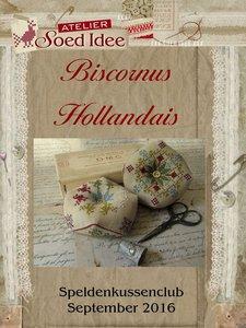 Speldenkussenclub XI - Biscornus Hollandais