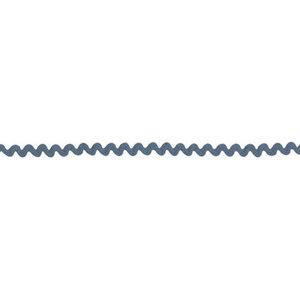 6 mm DUSTY BLUE ric rac