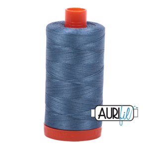 Aurifil Mako 28 1126 Blue Grey