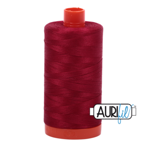 Aurifil Mako 28 2260 Wine Red