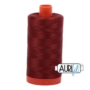 Aurifil Mako 28 2355 Rust