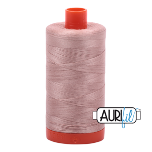 Aurifil Mako 28 2375 Antique Blush