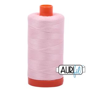 Aurifil Mako 28 2410 Pale Pink
