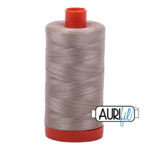 Aurifil Mako 28 5011 Rope Beige