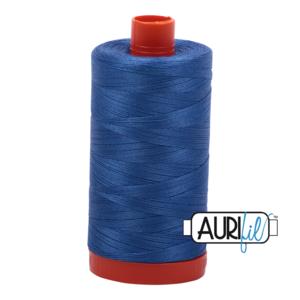 Aurifil Mako 28 6738 Peacock Blue